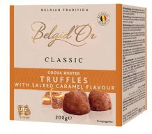 Belgid'Or Belgian Cocoa Dusted Truffles Salted Caramel 200g